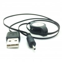 Retractable USB Charging Cable Lead for Nokia Small Pin (2mm) Mobile Cell Phones
