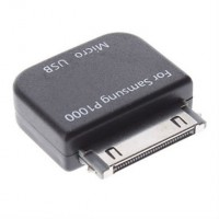 Micro USB Female Adapter Converter for Samsung Galaxy Tab P1000, N5100, P3100, P7300, P7500, P6200, P6800