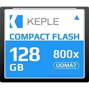 CF 128 GB Compact Flash Memory Card UDMA 7 800x 120 MB/s Supports 4K 1080p full HD Video, R 135 MB/s W 83 MB/S Compatible with Nikon D5, D4, D800, D810, D700, D300; Canon 5d, Mk II, III, IV; 7d, Mk II