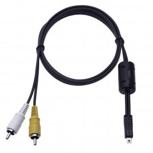 Audio Video TV Cable Lead Cord for Fujifilm FinePix S Series: S4000 / S4050 / S4080 / S4200 / S4240 / S4300 / S4400 / S4500 / S4530 / S4600 / S4700 / S4800 / S4900 (UC-E6 AV)