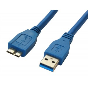 0.5m USB 3.0 Cable A To Micro B For 2.5 inch SATA External Hard Drive Disk HDD