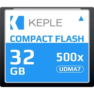 CF 32 GB Compact Flash Memory Card UDMA 7 500x 75MB/s Supports 4K and 1080p full HD Video, R 98 MB/s W 46 MB/S Compatible with Nikon D5, D4, D800, D810, D700, D300; Canon 5d, Mk II, III, IV; 7d, Mk II