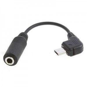 15cm Micro USB to 3.5mm Female Jack Audio Cable Lead Adaptor Converter