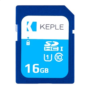 16GB SD Memory Card by Keple | High Speed SD Card for HD Videos & Photos | 16 GB Storage Class 10 UHS-I U1 SDHC