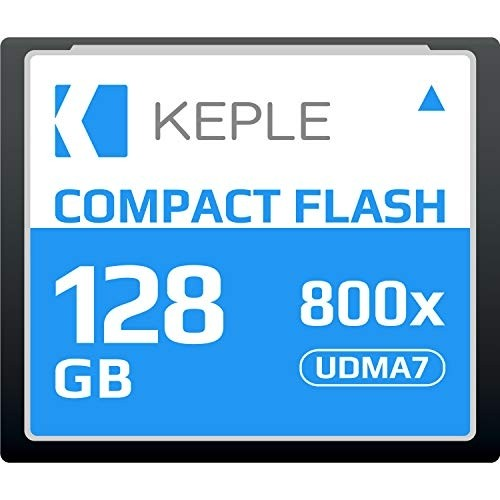 CF 128 GB Compact Flash Memory Card UDMA 7 800x 120 MB/s Supports 4K 1080p full HD Video, R 135 MB/s W 83 MB/S Compatible with Nikon D5, D4, D800, D810, D700, D300; Canon 5d, Mk II, III, IV; 7d, Mk II
