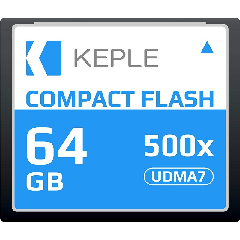 CF 64 GB Compact Flash Memory Card UDMA 7 500x 75MB/s Supports 4K and 1080p full HD Video, R 94 MB/s W 70 MB/S Compatible with Nikon D5, D4, D800, D810, D700, D300; Canon 5d, Mk II, III, IV; 7d, Mk II