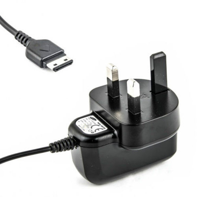 UK Mains Wall Charger for Old Samsung Mobile Cell Phones - G600, GT-E1200, E1200 (Stock Clearance)