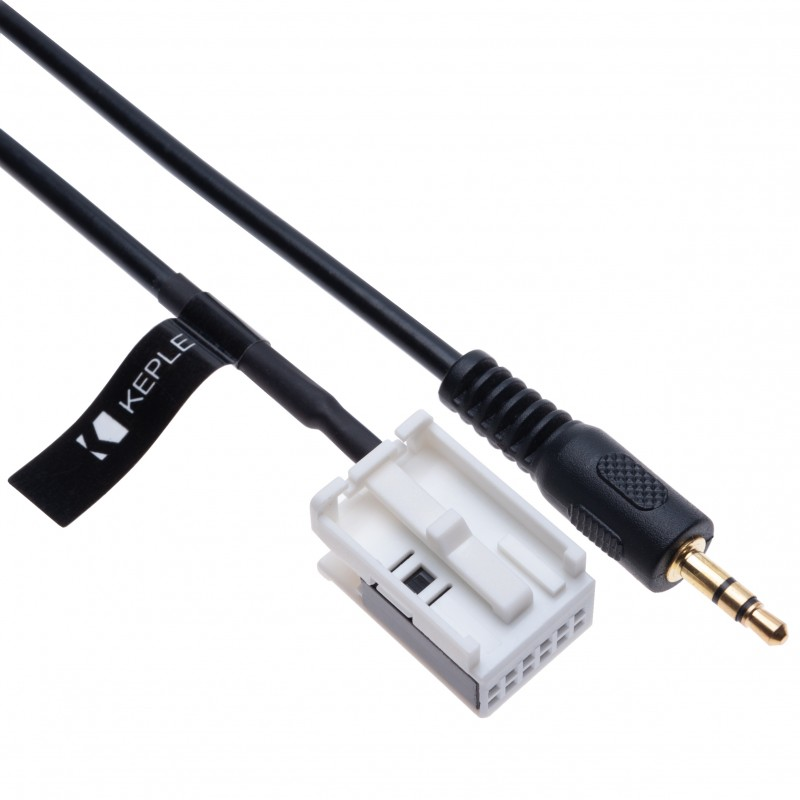 AUX Input Audio Cable Car Adapter Compatible with BMW E60 E63 E64 E65 E66 E81 E82 E87 E88 E90 E91 E92 E93 CD Player Navigation Nav | 12 pin Changer Transmiter 3.5 Male Extension Wire Connector | 1.5m